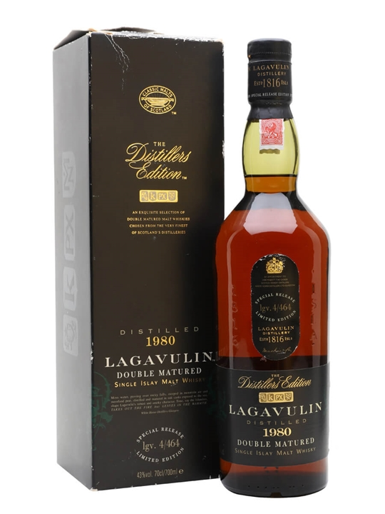 Lagavulin 1980 / Distillers Edition Islay Single Malt Scotch Whisky