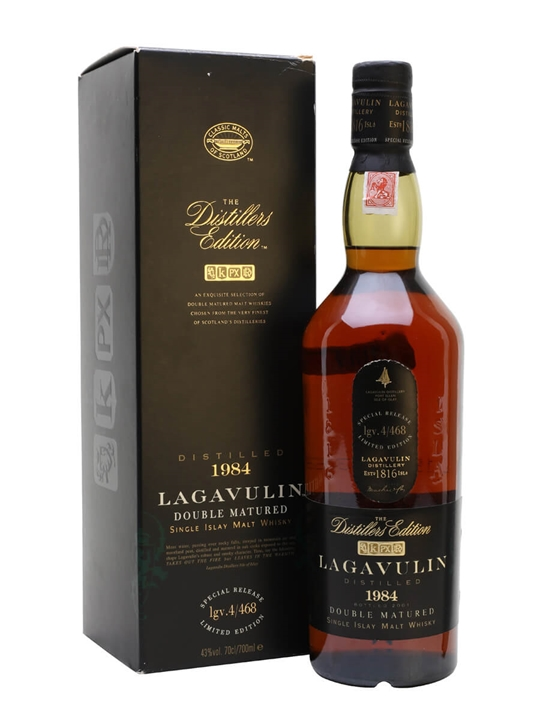 Lagavulin 1984 / Distillers Edition Islay Single Malt Scotch Whisky