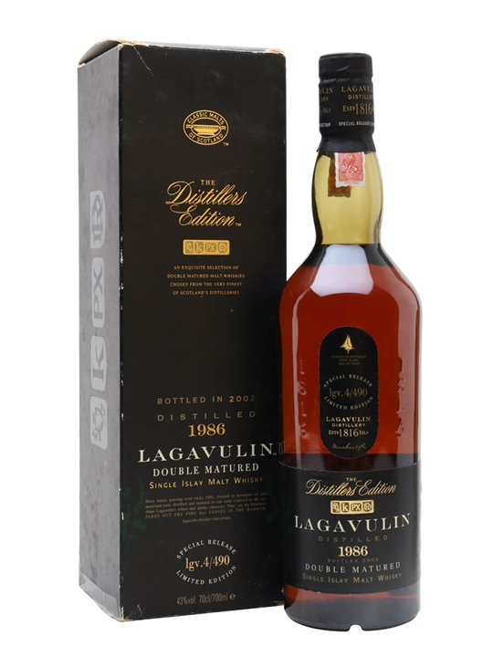 Lagavulin 1986 / Distillers Edition Islay Single Malt Scotch Whisky
