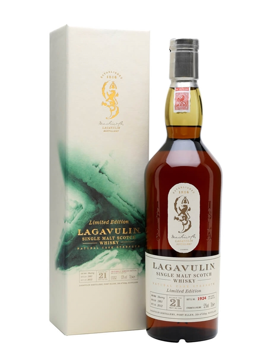 Lagavulin 1991 / 21 Year Old / Bot.2012 / Sherry Cask Islay Whisky