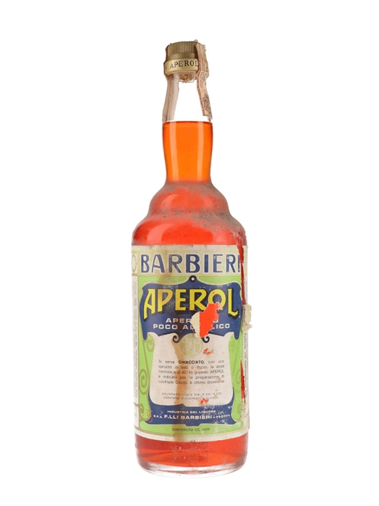 Aperol Barbieri / Bot.1970s / Litre Bottle