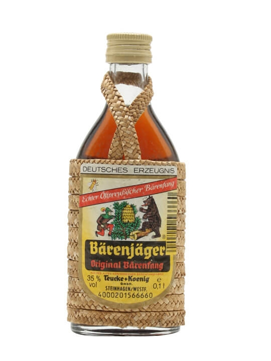 Barenjager Liqueur / Bot.1990s / Small Bottle