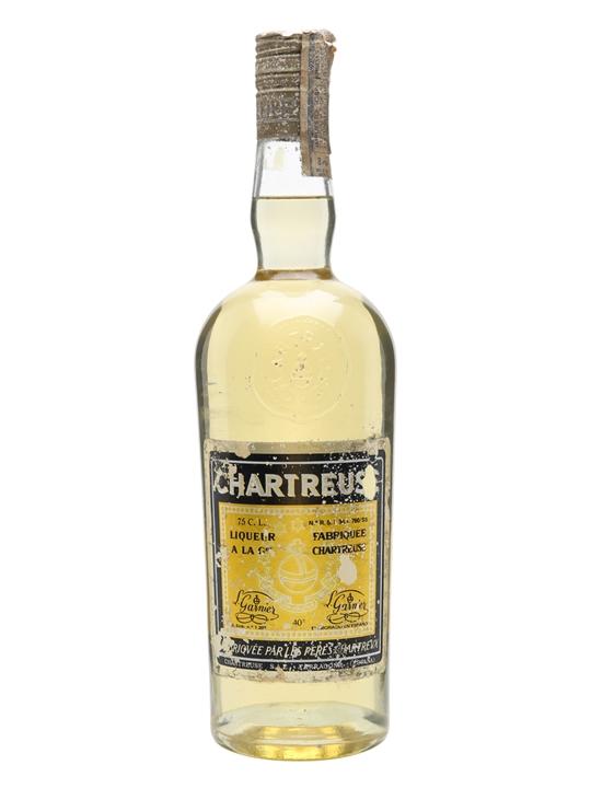 Chartreuse Yellow Liqueur / Bot.1970s / Tarragona
