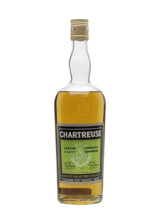 Chartreuse Green Liqueur / Tarragona / Bot.1970s