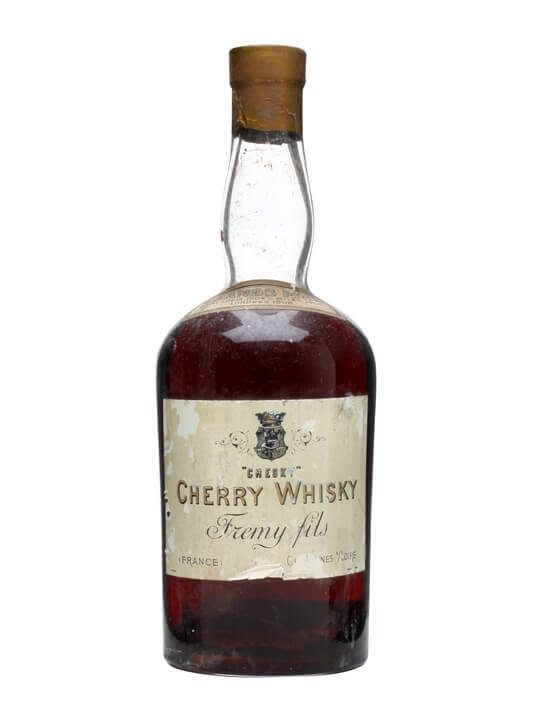 'chesky' Cherry Whisky / Fremy Fils / Bot.1930s