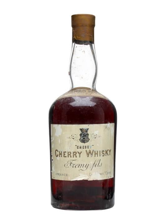 'chesky' Cherry Whisky / Fremy Fils / Bot.1930s