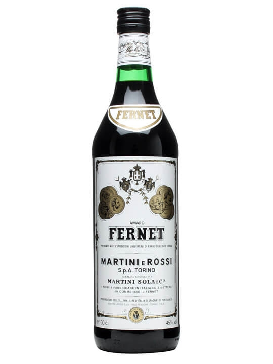 Martini E Rossi Amaro Fernet Buy Online The Whisky