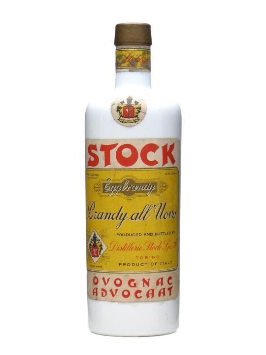 Stock Egg Brandy / Advocaat / Bot.1960s