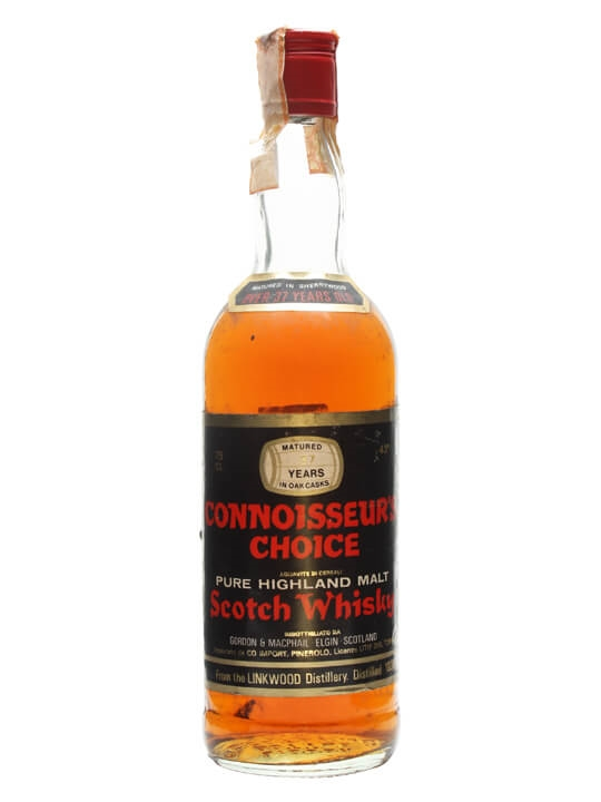 Linkwood 1939 / 37 Year Old / Connoisseurs Choice Speyside Whisky