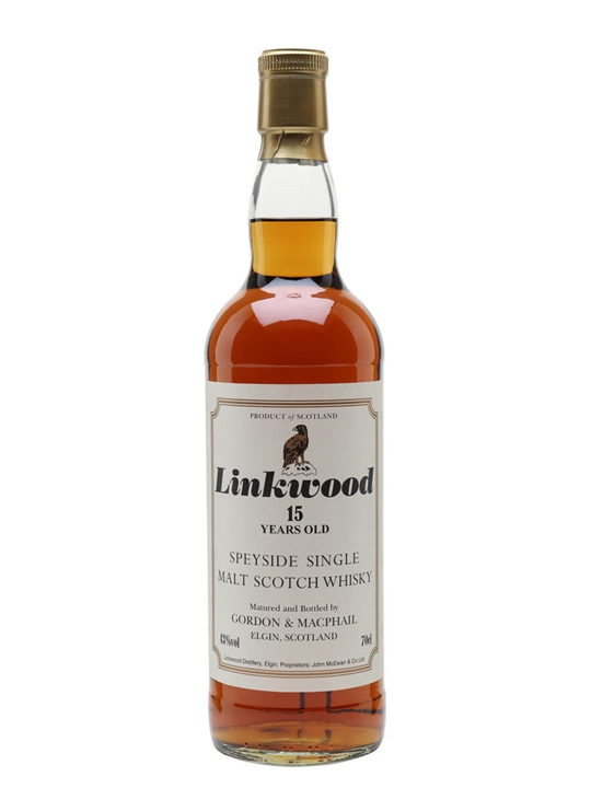 Linkwood 15 Year Old / Gordon & Macphail Speyside Whisky