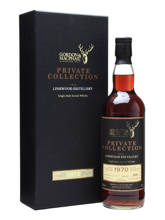 Linkwood 1970 / Private Collection / Gordon & Macphail Speyside Whisky
