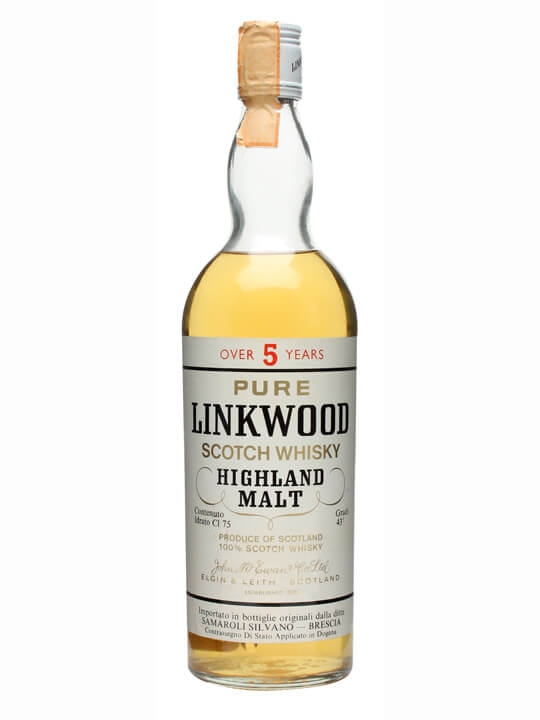 Linkwood Over 5 Year Old / Bot.1970s Speyside Whisky