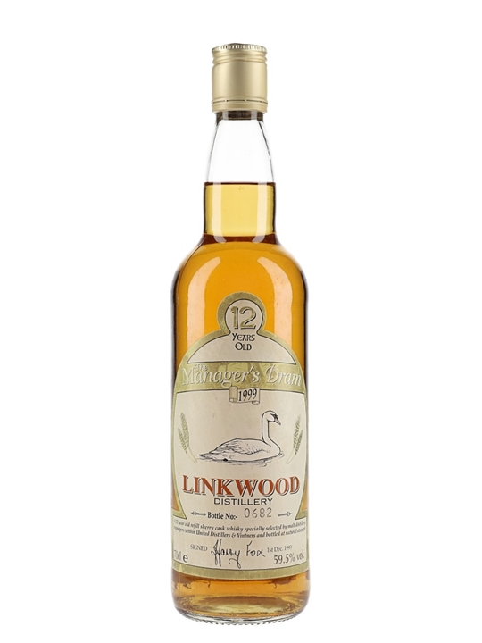 Linkwood 12 Year Old / Manager's Dram Speyside Whisky