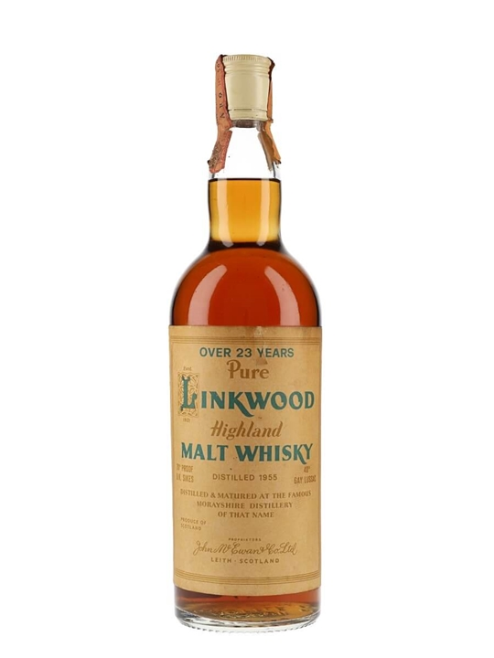 Linkwood 1955 / 23 Year Old Speyside Single Malt Scotch Whisky