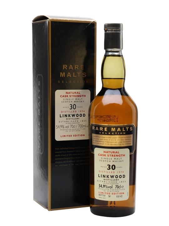 Linkwood 1974 / 30 Year Old Speyside Single Malt Scotch Whisky