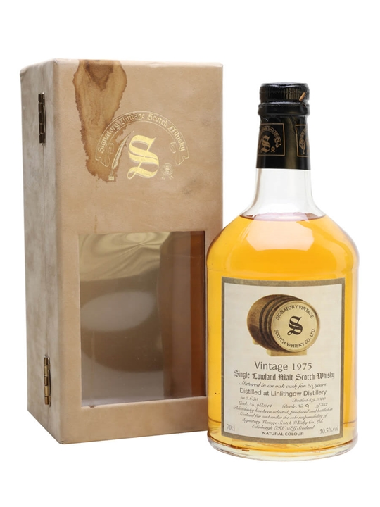 Linlithgow 1975 / 25 Year Old /  Cask #96/3/14 Lowland Whisky