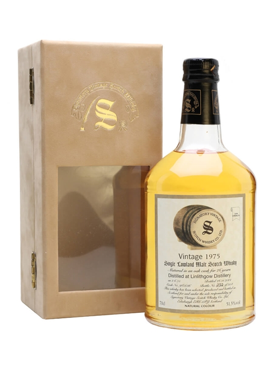 Linlithgow 1975 / 26 Year Old / Cask #96/3/36 / Signatory Lowland Whisky