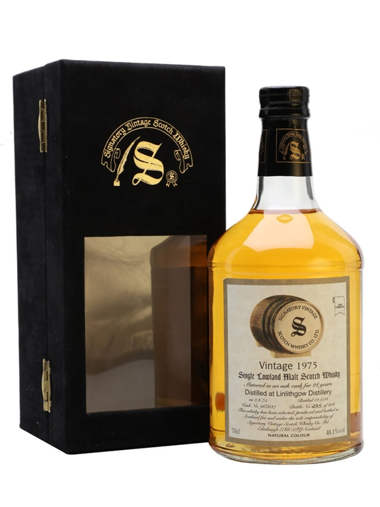 Linlithgow 1975 / 28 Year Old / Cask #96/3/37 / Signatory Lowland Whisky