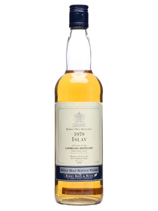 Laphroaig 1979  / Bot.1999 / Cask #5964+6 Islay Whisky