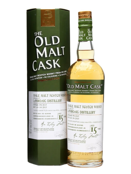 Laphroaig 1996 / 15 Years Old / Old Malt Cask #7492 Islay Whisky