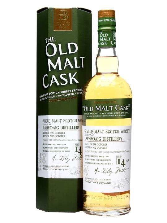 Laphroaig 1998 / 14 Year Old / Old Malt Cask #9222 Islay Whisky