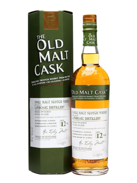 Laphroaig 1999 / 12 Years Old / Old Malt Cask #7458 / Islay Whisky