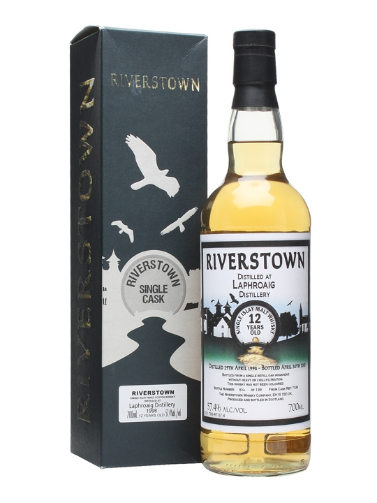 Laphroaig 1998 / 12 Year Old / Riverstown Islay Whisky