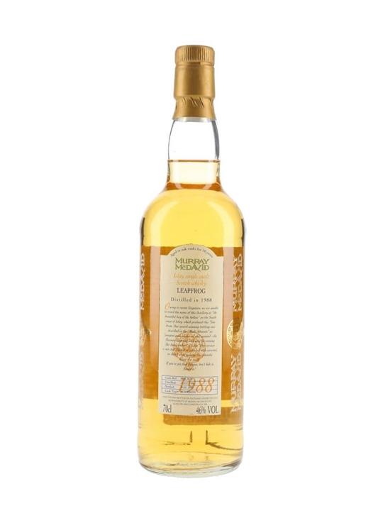 Leapfrog 1988 / 10 Year Old Islay Single Malt Scotch Whisky