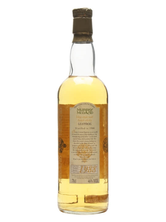 Leapfrog 1988 / 10 Year Old / Murray McDavid Islay Whisky