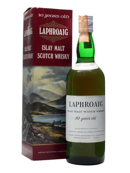 Laphroaig 10 Year Old / Bot.1970s / Bonfanti Islay Whisky