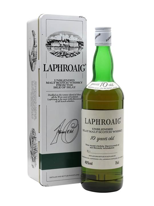 Laphroaig 10 Year Old / Bot.1980s Islay Single Malt Scotch Whisky