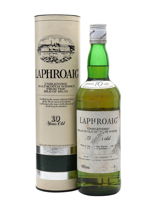 Laphroaig 10 Year Old / Bot.1980s Islay Single Malt Scotch Whisky