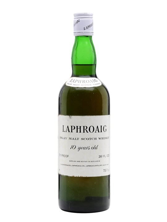 Laphroaig 10 Year Old / Bot.1970s Islay Single Malt Scotch Whisky