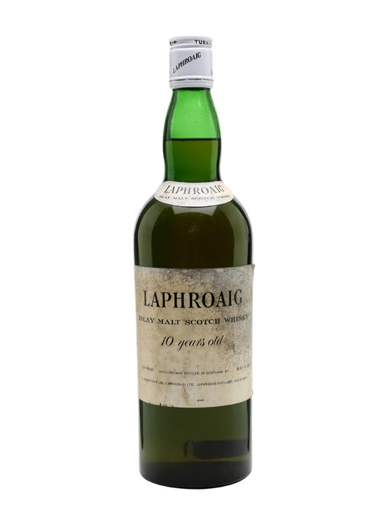 Laphroaig 10 Year Old / Bot.1960s Islay Single Malt Scotch Whisky