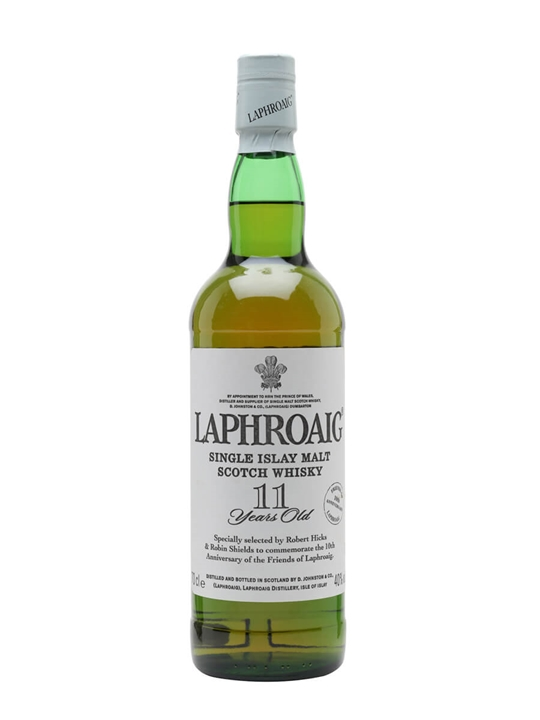 Laphroaig 11 Year Old / Friends Of Laphroaig Islay Whisky