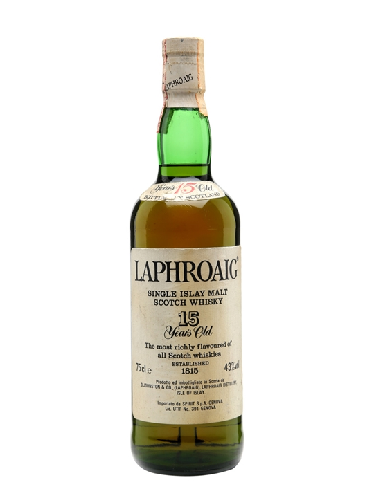 Laphroaig 15 Year Old / Bot.1980s Islay Single Malt Scotch Whisky