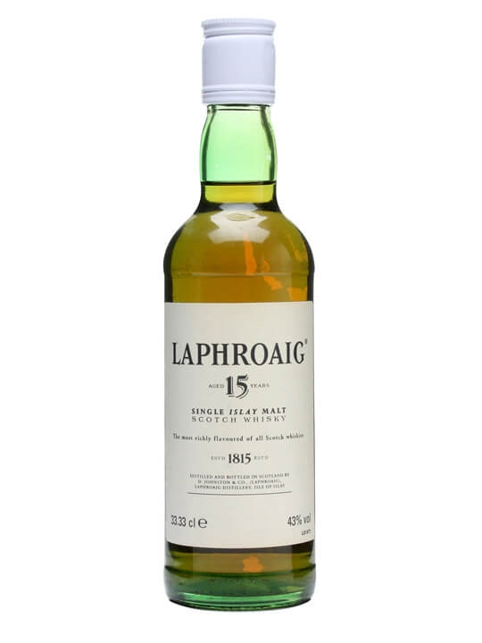 Laphroaig 15 Year Old / 43% Islay Single Malt Scotch Whisky