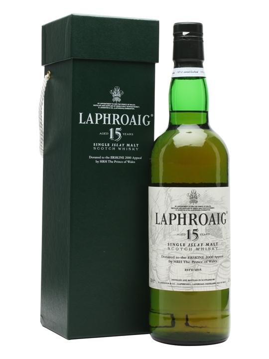 Laphroaig 15 Year Old / Erskine Hospital 2000 Islay Whisky
