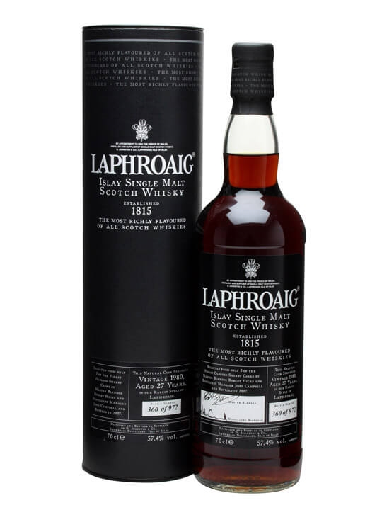 Laphroaig 1980 / 27 Year Old / Sherry Cask Islay Whisky