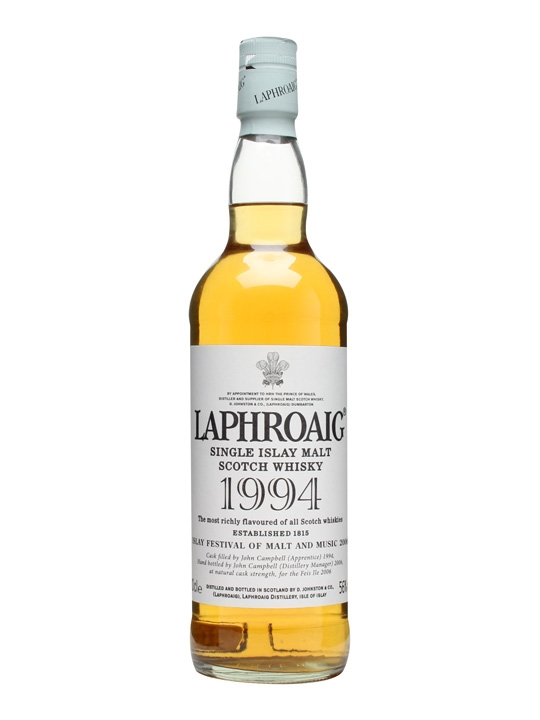 Laphroaig 1994 / Islay Festival 2006 Islay Single Malt Scotch Whisky