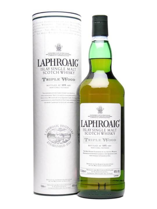 Laphroaig Triple Wood / 1l Islay Single Malt Scotch Whisky