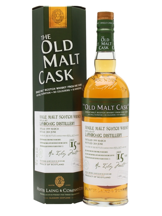 Laphroaig 1999 / 15 Year Old / Old Malt Cask Islay Whisky