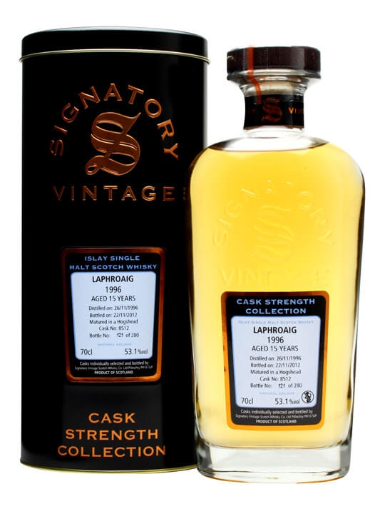 Laphroaig 1996 / 15 Year Old / Cask #8512 / Signatory Islay Whisky