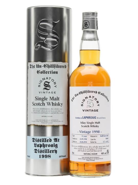 Laphroaig 1998 / 15 Year Old / Sherry Butt / Signatory Islay Whisky