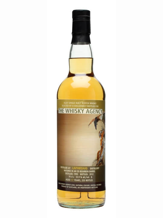 Laphroaig 1995 / 17 Year Old / The Whisky Agency Islay Whisky