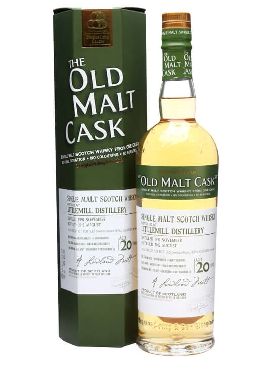 Littlemill 1991 / 20 Year Old / Cask #8481 Lowland Whisky