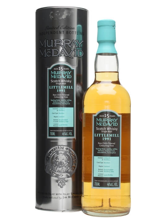 Littlemill 1991 / 15 Year Old Lowland Single Malt Scotch Whisky