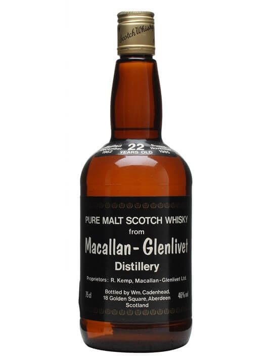 Macallan-glenlivet 1962 / 22 Year Old Speyside Whisky