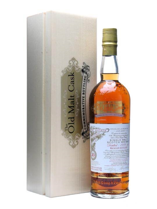 Macallan 1989 / 20 Year Old / Sherry Finish Speyside Whisky