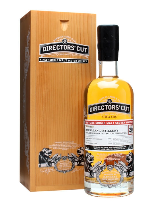 Macallan 1992 / 20 Year Old / Directors' Cut / Cask #9449 Speyside Whisky